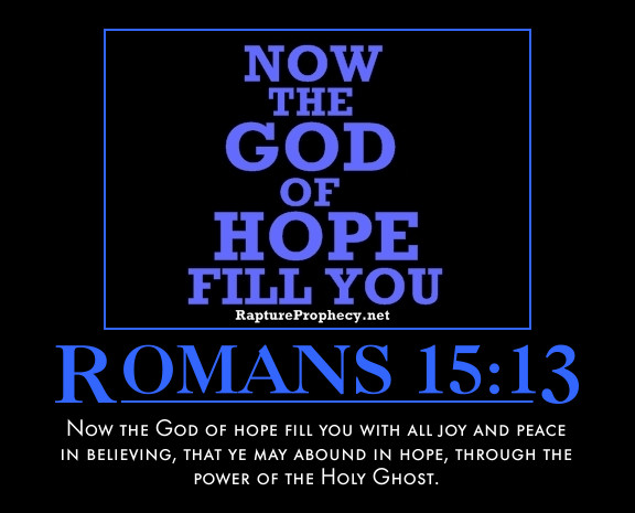 God is my eternal hope